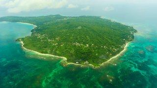 Illustration région Corn Island / zone caraïbes